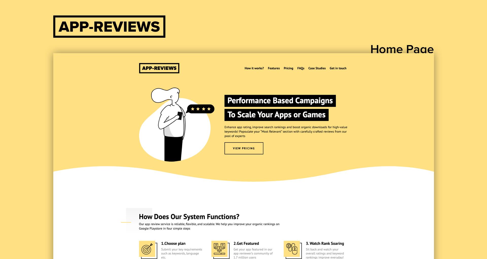 App Reviews 7span